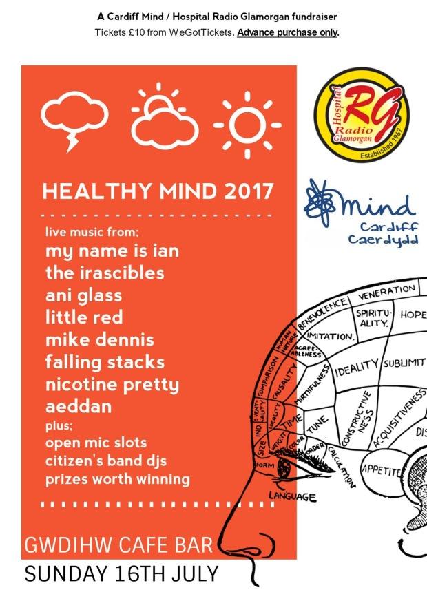Nicotine Pretty @ Healthy Mind, Gwdihw, Cardiff