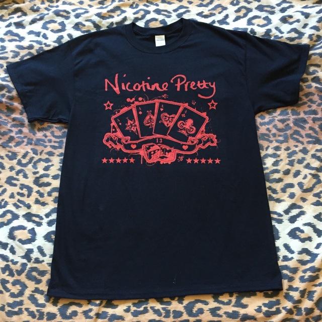 Nicotine Pretty Aces T-Shirt