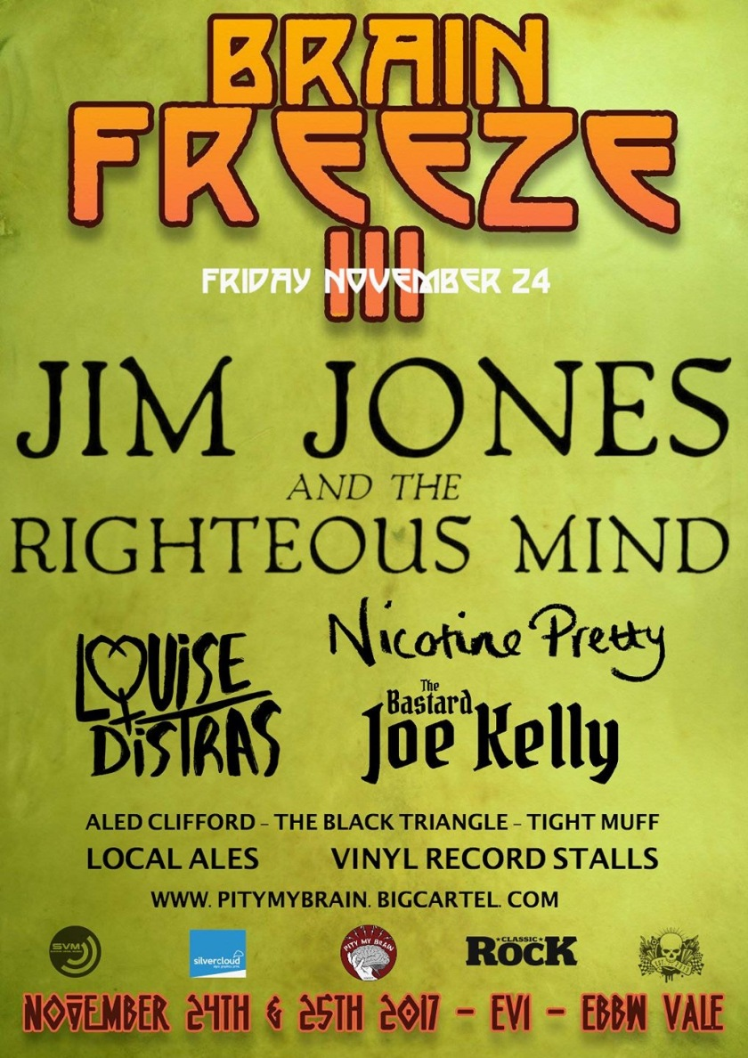 Nicotine Pretty @ Brain Freeze Festival w/ Jim Jones & The Righteous Mind