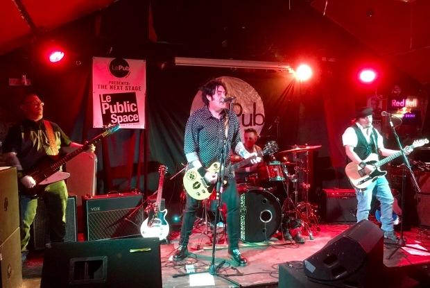 Nicotine Pretty @ Le Pub, Newport 08/06/17