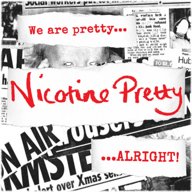 NIcotine Pretty Digital Single Art