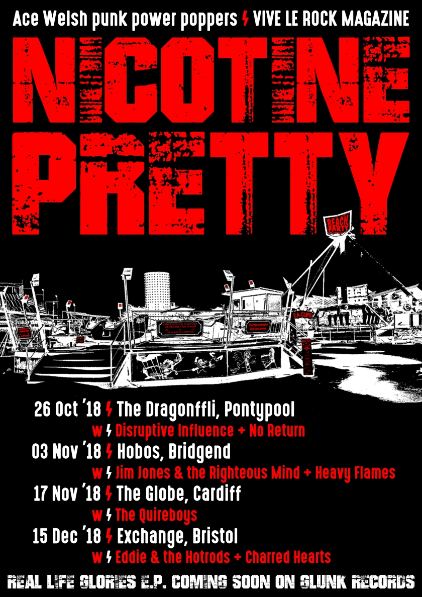 Nicotine Pretty Gigs 2018