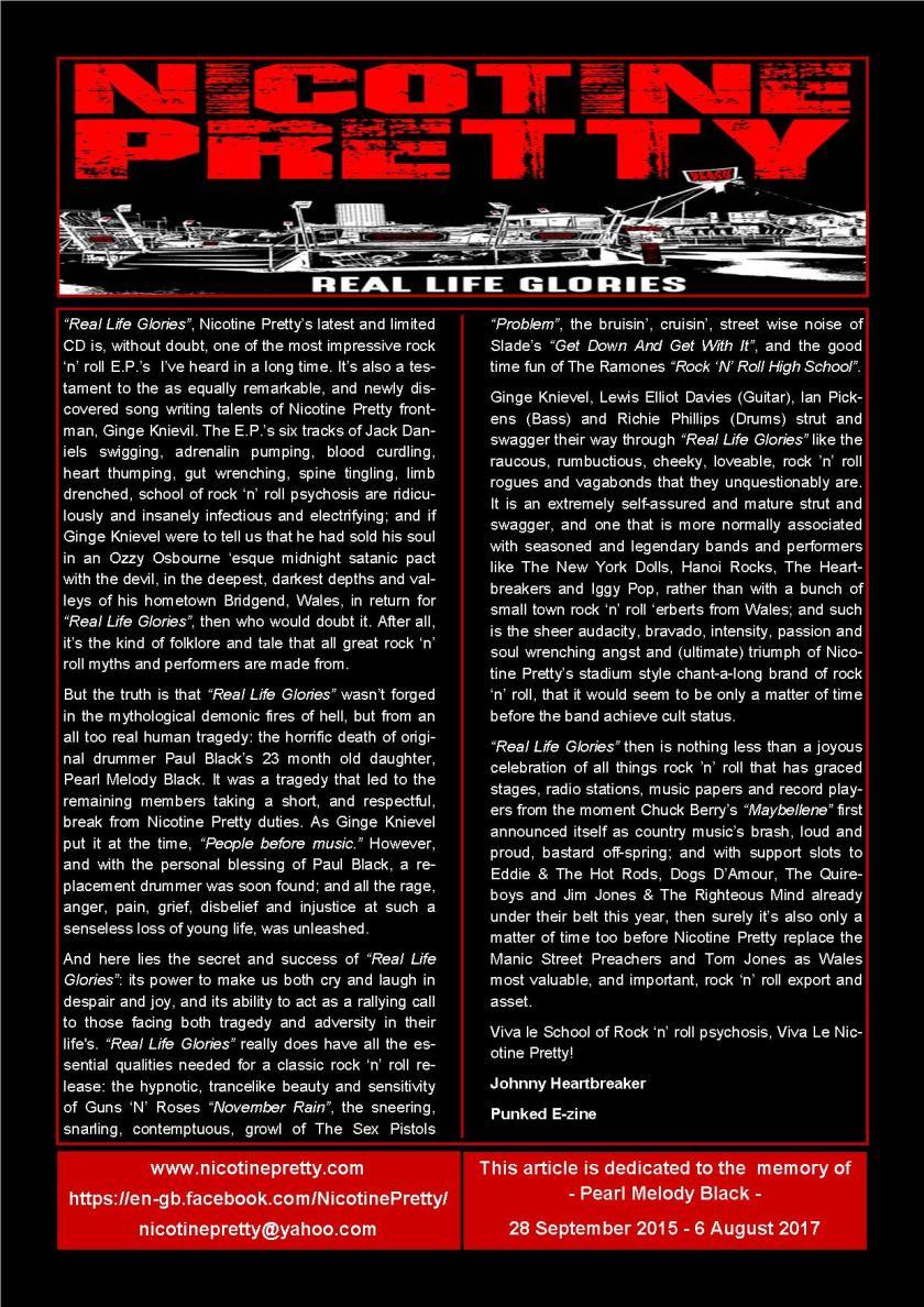 Nicotine Pretty - Punked Fanzine